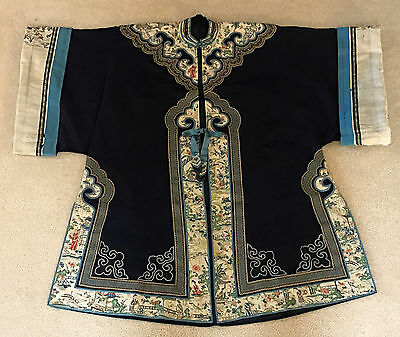 Antique Embroidered Chinese Surcoat