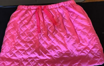 Girl's Crewcuts Pink Quilted Skirt size 8 *H