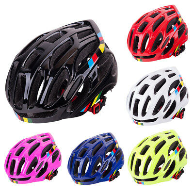 Unisex Adult Bicycle Helmets PC+EPS Integrally-molded Helmet Safety 6 Colors