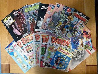 Job Lot of x17 Various Comics