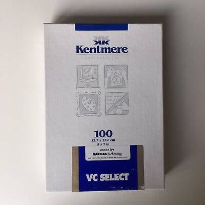 """Kentmere Glossy Photographic Paper Darkroom 5"""" X 7"""" 