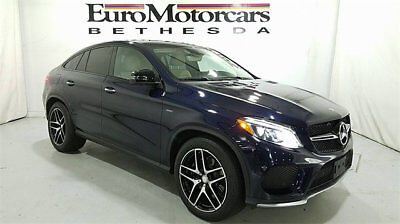 2016 Mercedes-Benz GLE 4MATIC 4dr GLE 450 AMG Coupe Mercedes-Benz GLE 4MATIC 4dr GLE 450 AMG Coupe SUV Automatic Gasoline 3.0L V6 Cy