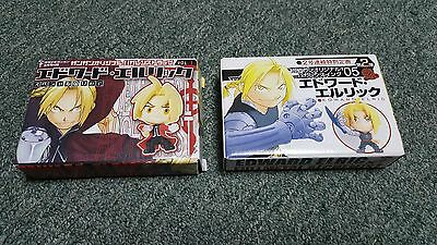 Rare- Fullmetal Alchemist- Edward Elric- Mini Chibi Figures- Japan Import