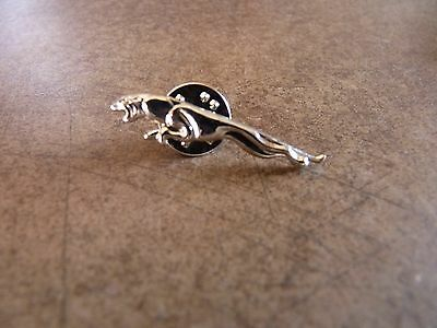 Leaping Jaguar  Gold Colour   Lapel Pin