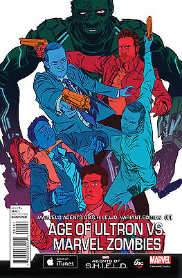Age Of Ultron Vs. Marvel Zombies #1 Agents Of Shield Variant  Marvel Comics