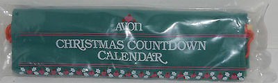 Vintage 1987 Avon Christmas Countdown Calendar Advent w/ mouse NEW UNOPENED