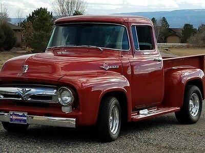 1956 Ford F-100 Custom Cab 1956 Ford,New Engine, New Paint,
