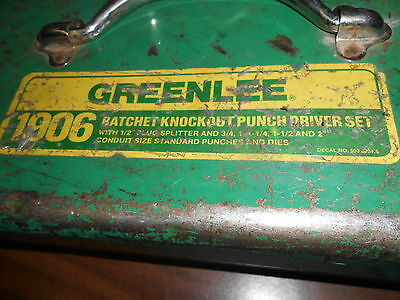 Greenlee Punch Driver!! Must See!!