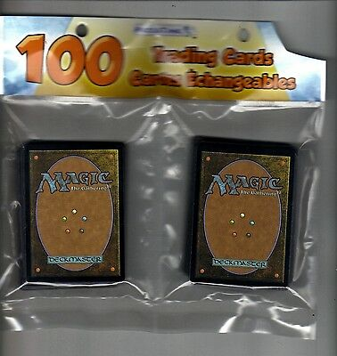 Magic the gathering trading 100 cards