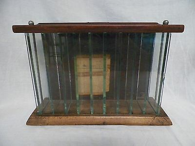 Old Vtg Ant 1921 Chewing Gum Display Case Ft. Scott Planing Mill Fort Scott, Ks.