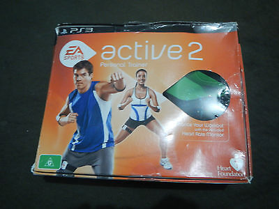 EA Sports Active 2 Personal Trainer 2010 PS3 Playstation 3 Game - *COMPLETE*