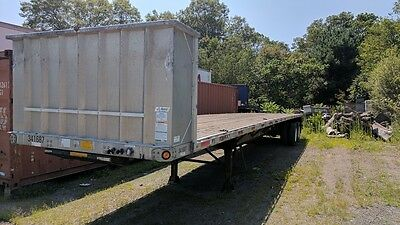 2008 Utility 48' Combo Flatbed Trailer