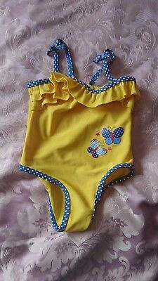 Girls swimming costume 12-18months from mini club