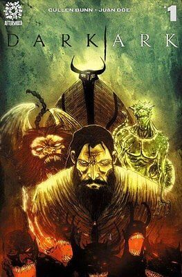 Dark Ark #1 Exclusive Ben Templesmith Variant Ltd To 175 Copies Aftershock Nm