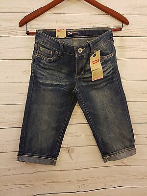 Levis Skimmer Capris shorts Brand New with tags free shipping Girls 12 regular