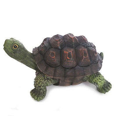 Resin Outdoor Yard Decoration Sculptural Tortoise Garden Turtle Statues