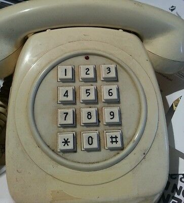 OLD PHONE PUSH BUTTON DIALING  Collectors' item