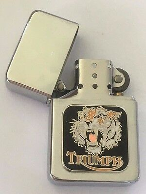 Lighter ~ Triumph Tiger head.  B011102SL