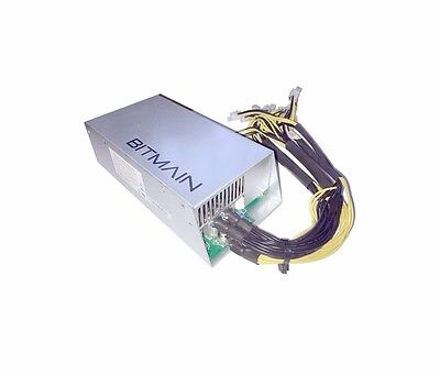 New Bitmain APW3++ 1600W power supply for Antminer D3 or L3+ or S9 miners