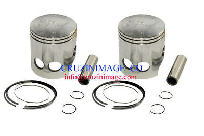 1973-1975 YAMAHA RD350 STANDARD SIZE PISTONS SET Two Pistons 10-RD350PS