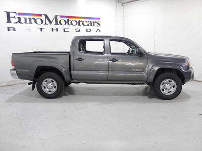 2013 Toyota Tacoma 2WD Double Cab V6 Automatic PreRunner 2WD Double Cab V6 Automatic PreRunner 2013 tacoma double cab prerunner grey 2014