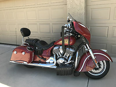 """2014 Indian CHIEFTAIN  2014 INDIAN MOTORCYCLE - CHIEFTAIN THUNDER BLACK"""" #686 of 1901"""""""