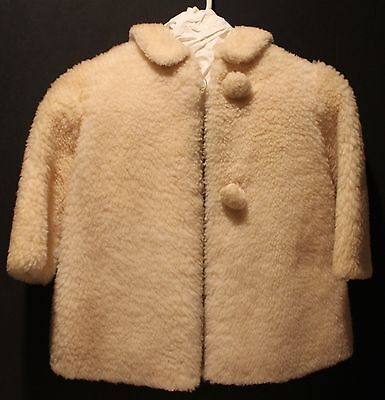 Vintage wool coat, child's, 1953-57 era. Handmade. Barely used. Collectible