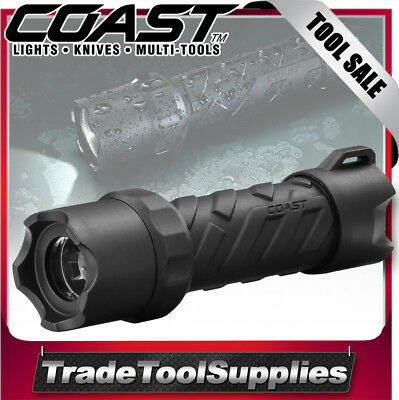 Coast LED Torch Flashlight 250 Lumens Polysteel Better Than MAGLITE COAPS200
