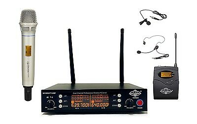 2CH UHF Wireless Handheld/Headset Mic System Compact Receiver ATL-AUDIO UGX2Ⅱ HL
