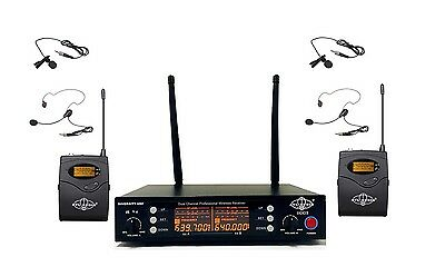 2CH UHF Wireless Headset/Lapel Mic System Compact Receiver ATL-AUDIO UGX2ⅡL