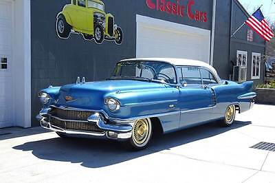 1956 Cadillac Eldorado Eldorado 1956 Cadillac Eldorado DUAL QUAD air conditioned low miles low reserve