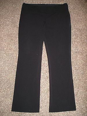 Womens ~MAURICES~ Black Dress Pants ~NICE~ Size 16 Regular