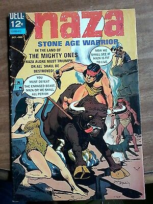 "#8 Naza Stone Age Warrior ""in The Land Of The Mighty Ones"" Oct-Dec. 1965"