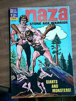 "#6 Naza Stone Age Warrior ""giants And Monsters"" April-June 1965"