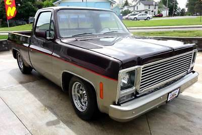 1975 Chevrolet C/K Pickup 1500 Custom 1975 Chevrolet C/K 10 Series Shorty 2WD Shaved Lowered and Cool