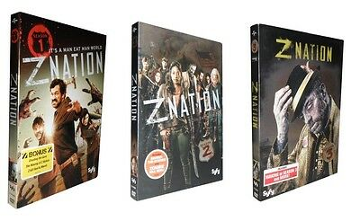 Z Nation - The Complete Seasons 1-3 (DVD, 2017, 9-Disc Set) 1 2 3
