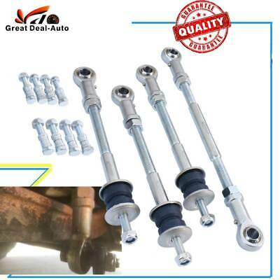 Extension Extended Sway Bar Link Kit For Nissan Patrol GU Front+Rear Heavy Duty