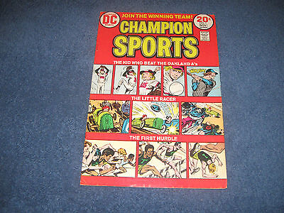 Champion Sports #1 DC Comics Bronze VF-