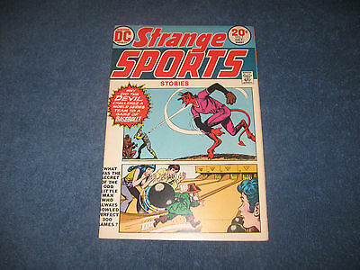 Strange Sports Stories #1 DC Comics Bronze FN+