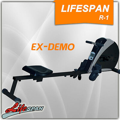 Lifespan Rowing Excercise Machine Fitness Rower Gym Demo R-1
