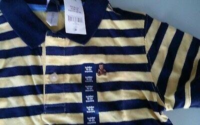 Gap boys striped polo shirt size 5 BNWT