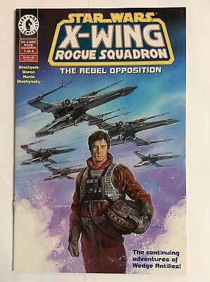 Star Wars, X-Wing Rogue Squadron #1 of 4 (Dark Horse Comics) The Rebal Oppositio