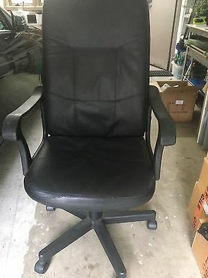 Office Chair Black used
