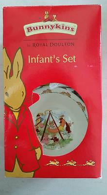 BRAND NEW Royal Doulton Bunnykins Nursery Infant Set 2pce BOWL & CUP WITH BOX