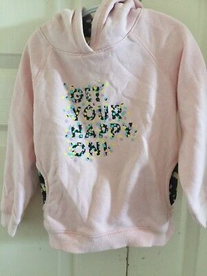 "Target ""Get Your Happy 😊 On "" Hoodie Size 4"