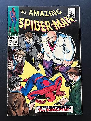 The Amazing Spider-Man #51 - SD 2nd App of Kingpin Spidey Stan Lee ASM