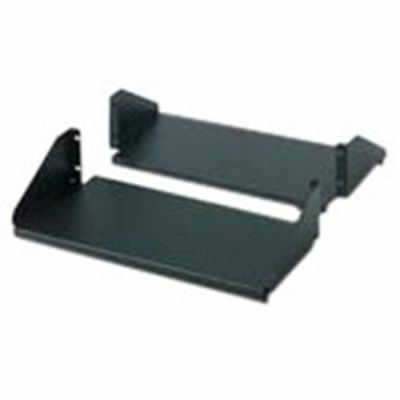 Schneider Electric Double Sided Fixed Shelf for 2-Post Rack 250 lbs Black - Rack