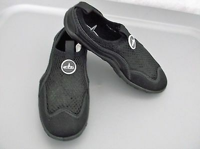"""Boys Black """"Blue Fin"""" Water Shoes - Size 12"""