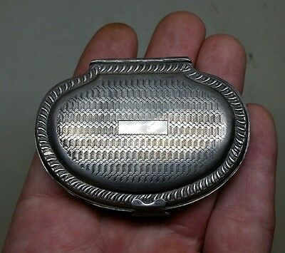Antique Victorian Silverplate Shell Form Coin Purse