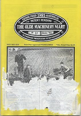 The Olde Machinery Mart TOMM Magazine issue 53 June 1994